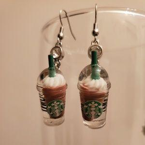 ☕ coffee earrings